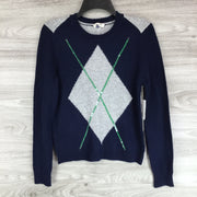 Court & Rowe Color Block Sequin Arguile Sweater
