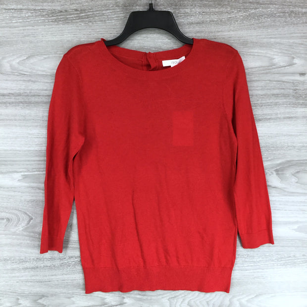 1901 Red Chinoise Crewneck Sweater