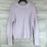 Sanctuary Lavender Knit Sweater