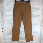 Yansi Fugel Dress Pants in Cofee Color