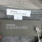 Nordstrom Signature Ribbed Long Sleeve Tee