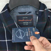 Weatherproof Vintage Brushed Flannel Plaid Shirt