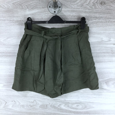 Nordstrom Signature Paper Bag High Waist Shorts