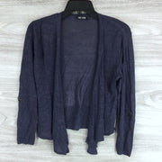 Nic + Zoe Open Front Sheer Cropped Cardigan