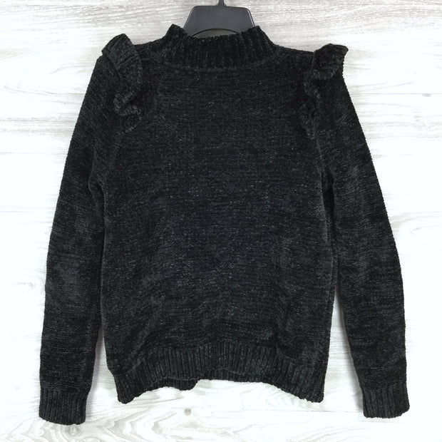 Do + Be Ruffled Trimmed Sweater