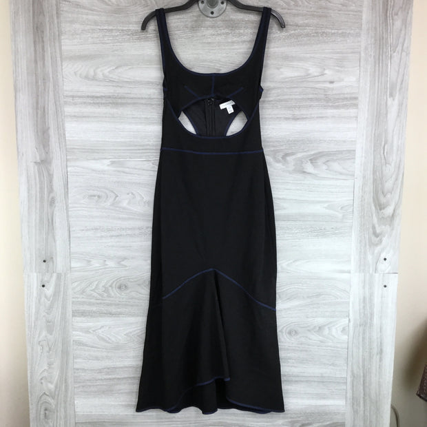 Topshop Racer Bodycon Midi Dress