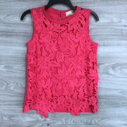 Everleigh Lace Front Sleeveless Top