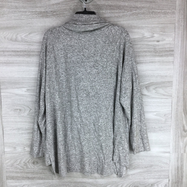 Gibson Ivory Grey Hoodie Sweater