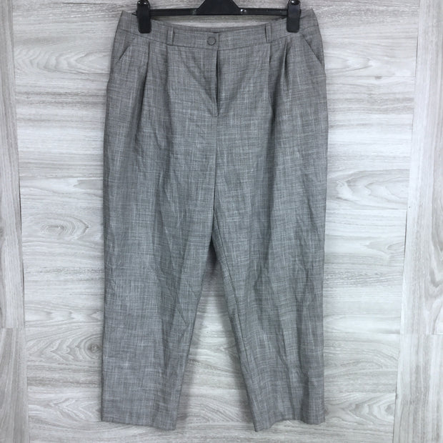 Topshop High Waist Pleated Pants