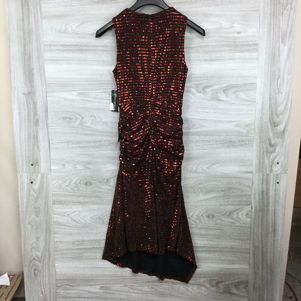 Donna Morgan Sleeveless Stretch Sequin Dress