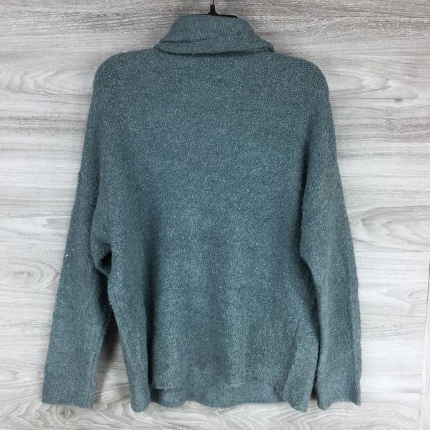 Catherine Malandrino Turtleneck Long Sleeve Knit Sweater