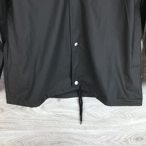 Rains Lightweight Water Proof Fitted Jacket Black
