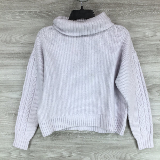 Something Navy Long Sleeve Knit Sweater