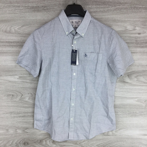 Original Penguin Feeder Stripe Heritage Slim Fit Shirt