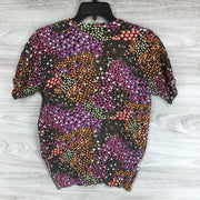 Grace Floral Button Up Blouse