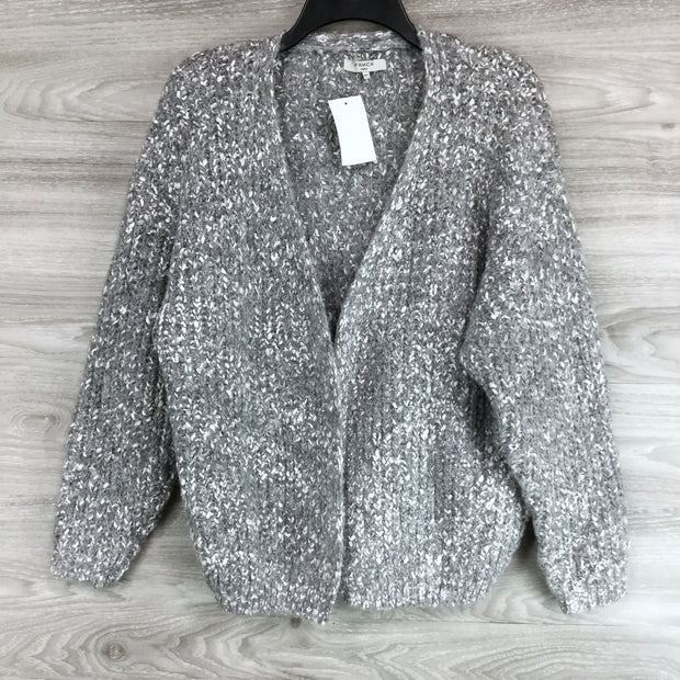 FRNCH Heavy Knit Open Front Cardigan