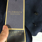 Elements Jack Victor Kai Wool Blend Doubleface Peacoat