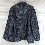 Club Monaco Textured Wrap Coat (Missing Belt)