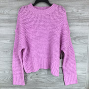Chelsea28 Purple Tulip Sweater