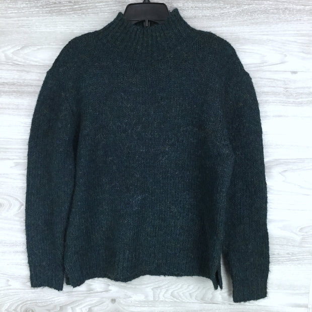 RD Style Marled Mock Neck Sweater