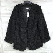 Max Studio Faux Fur Coat