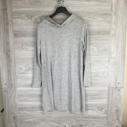 Lou & Grey Heather Hooded Sweater Dress
