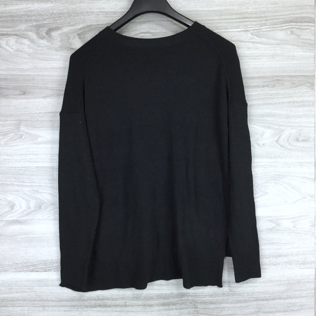 Chelsea28 Black Pullover Sweater