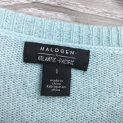 Halogen Elbow-Length Sleeve Sweater
