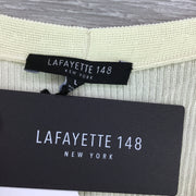 Lafayette 148 Fitted Ribbed Knit Cardigan