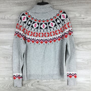1901 Shrunken Fair Isle Turtleneck Sweater