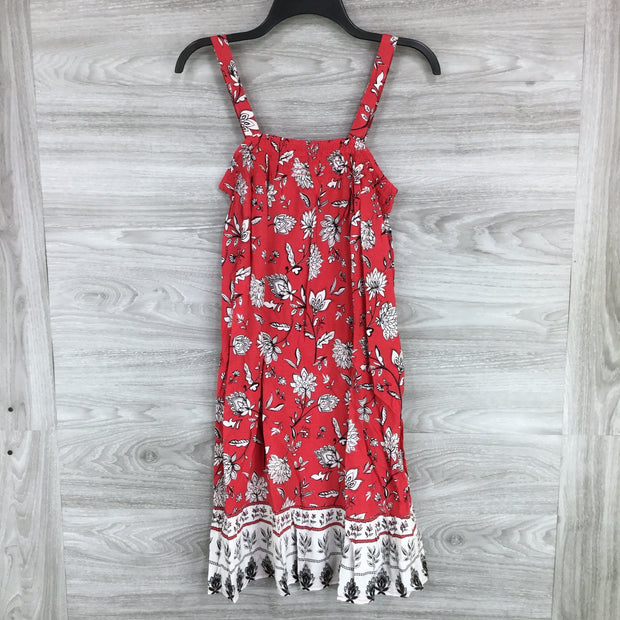 Beachlunchlounge Sleeveless Shift Dress Red