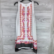 Max Studio Scarf Print Sleeveless Shift Dress