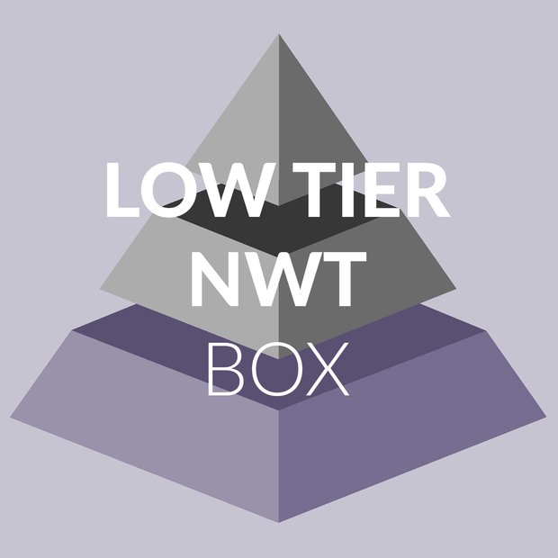 Low Tier NWT Pre-Packed Box