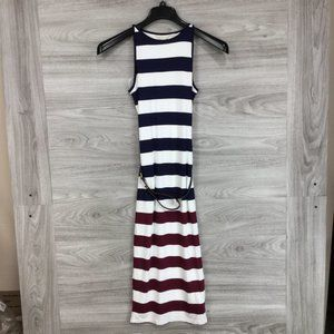 Ted Baker London Yuni Rowing Stripe Dress