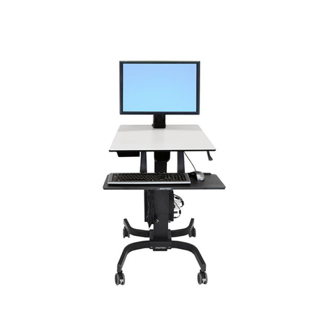 Ergotron® WorkFit-C Single HD Sit-Stand Workstation