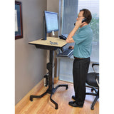 Ergotron WorkFit-PD Sit-Stand Desk