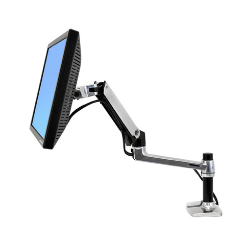 Ergotron® LX Desk Mount LCD Arm, Tall Pole