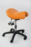Bambach Saddle Seat orange