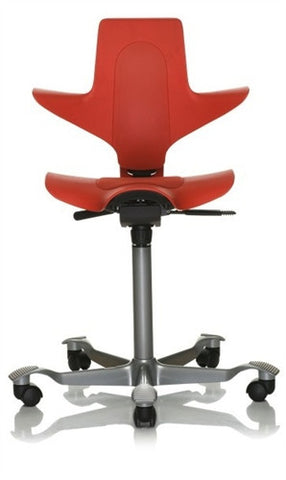 HÅG Capisco Puls Saddle Chair Red
