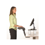 3M Sit/Stand Adjustable Keyboard Tray