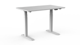Vision Two Electric Adjustable Desk White
