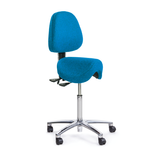 Ergo Saddle Seat with Back