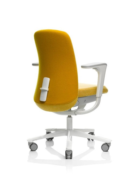 HÅG SoFI 7260 Kvadrat Hallingdal yellow and yellow/white