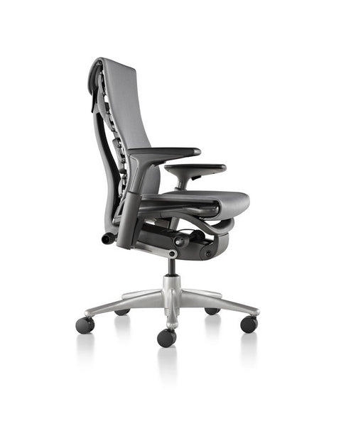 Herman Miller Embody Chair silver side