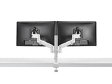 CBS Lima Monitor Arm Dual White Back