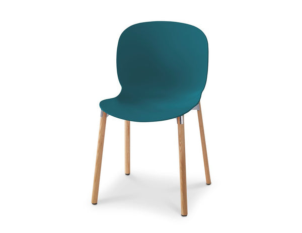 RBM Noor 6080 Teal Blue Wooden legs