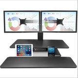 Standesk Memory Black Dual Front