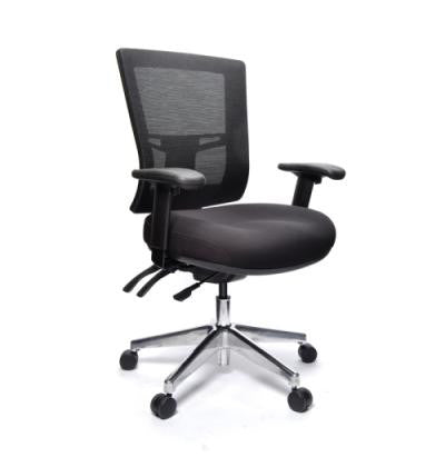 Metro II 24/7 Silver base With armrests