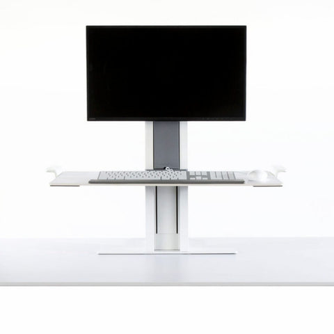 QuickStand Large Platform Single Monitor Sit-Stand