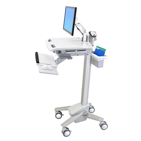 StyleView EMR Cart with LCD Arm